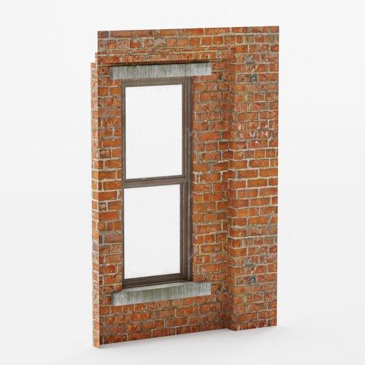 Thumbnail: Wall window inset top 2x3