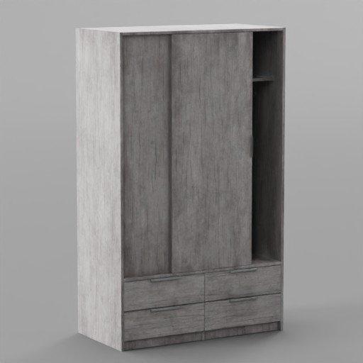 Thumbnail: White old closet