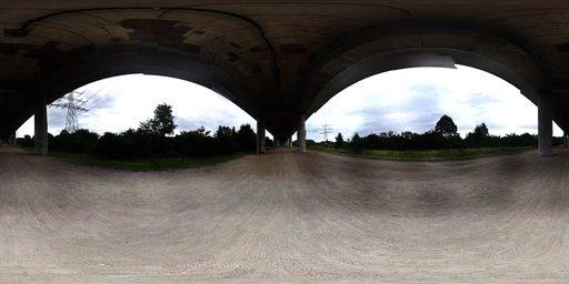 Mainz Under Bridge HDRI