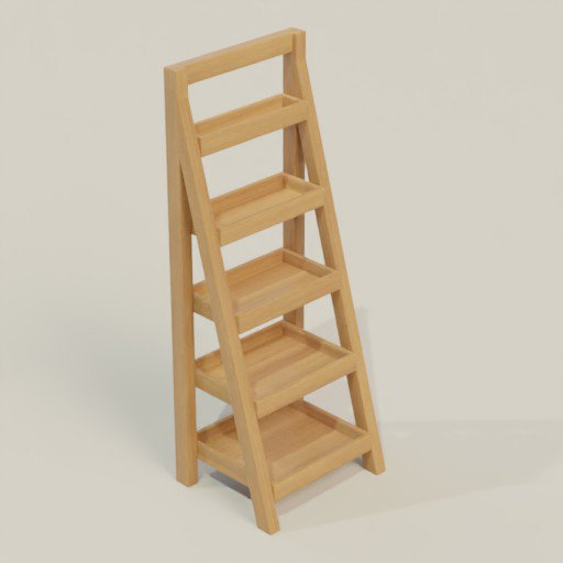 Thumbnail: Rack Shelving Bookcase 60 x 50 x 160