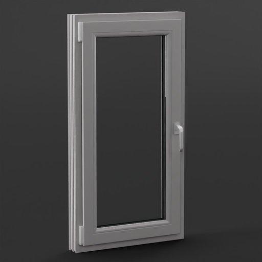Thumbnail: Plastic Window 75x140 cm