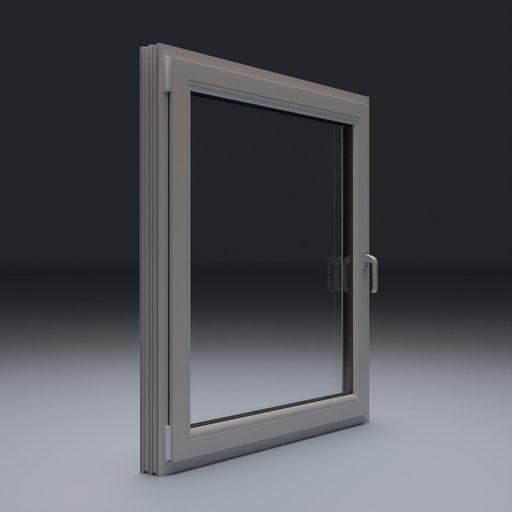 Thumbnail: Plastic Window 125x140 cm