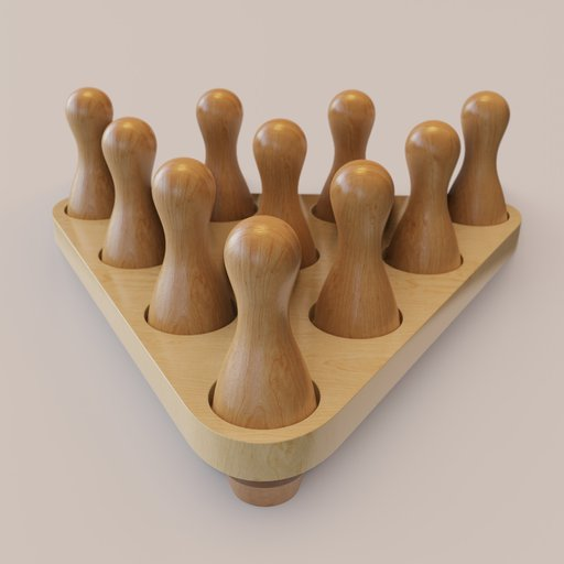Thumbnail: Shuffleboard Bowling Pins