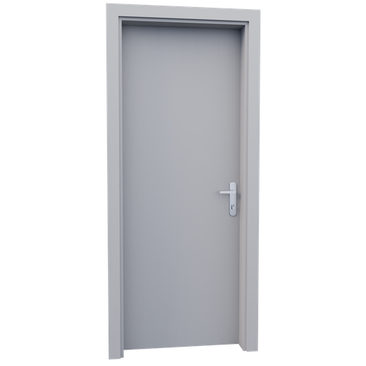 Thumbnail: Internal wooden door - Waite - 80 cm