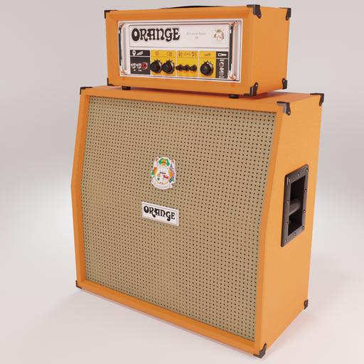 Thumbnail: Orange CU 50 & PPC4AD Amplifier by DJH