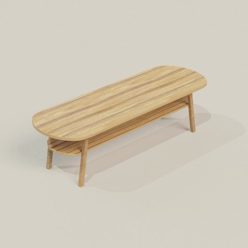 Thumbnail: Two Layer Coffee Table