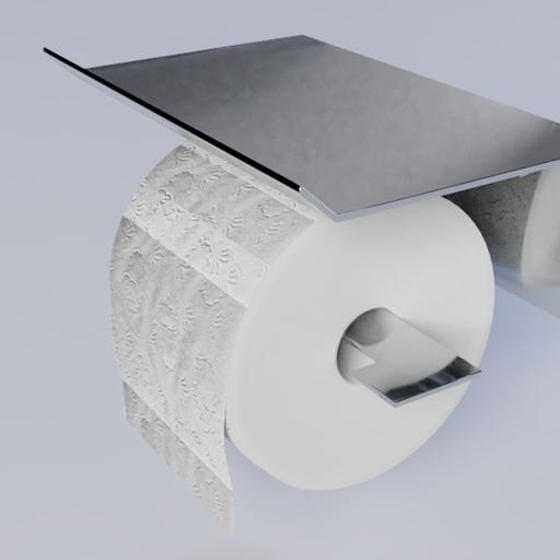 Thumbnail: Toiletpaper wallholder