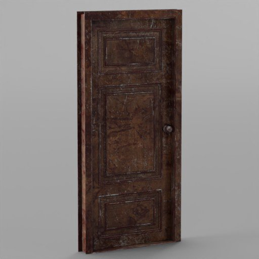 Thumbnail: Horror Wood Door