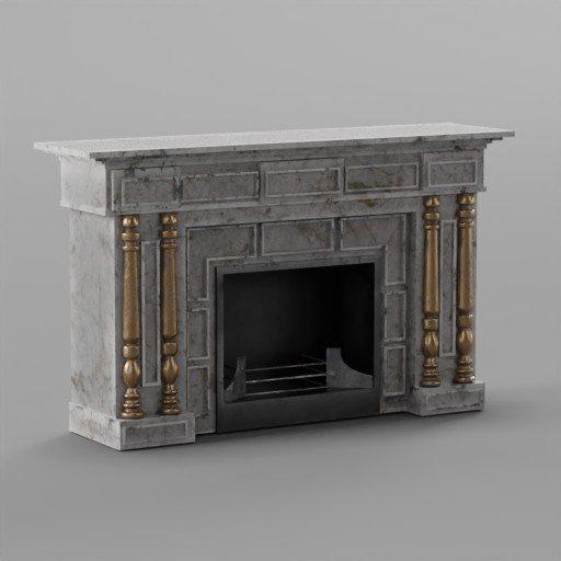 Thumbnail: Fireplace 1870