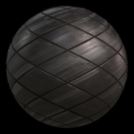 Procedural Sci-fi Armour Plates