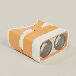 Thumbnail: Stylised binocular