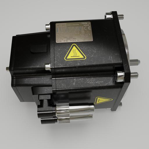 Thumbnail: Robot servo motor 0000117606