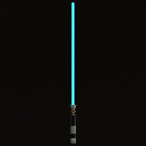 Thumbnail: Lightsaber blue