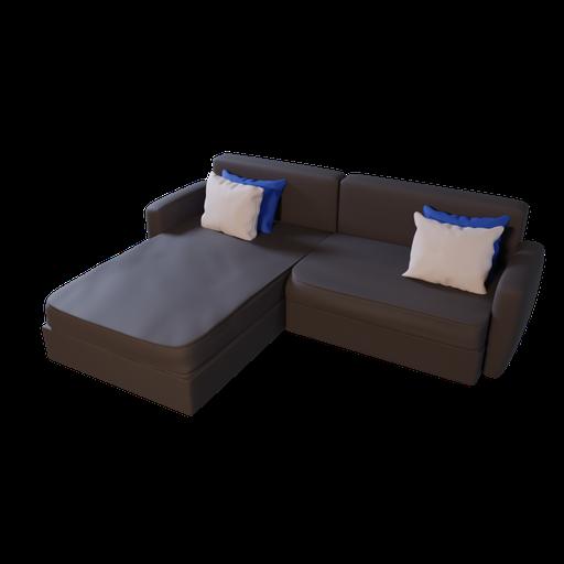 Thumbnail: Sofa L shape 02