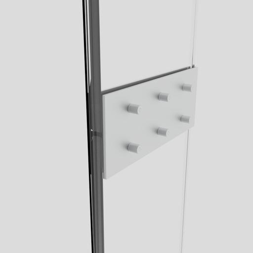 Thumbnail: Curtain Wall Fin Splice Plate
