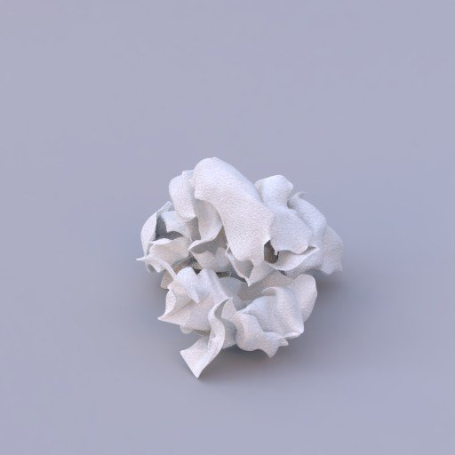 Thumbnail: creased papers pile