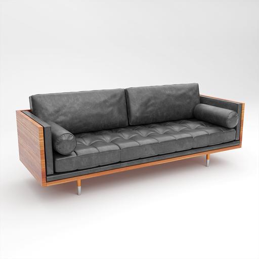 Thumbnail: Leather Sofa