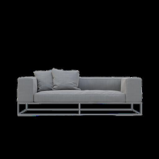 Thumbnail: Grey sofa