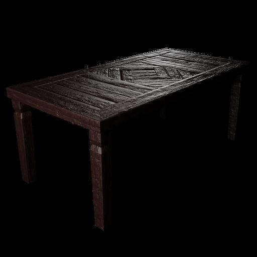 Thumbnail: Rustic Table - Marron
