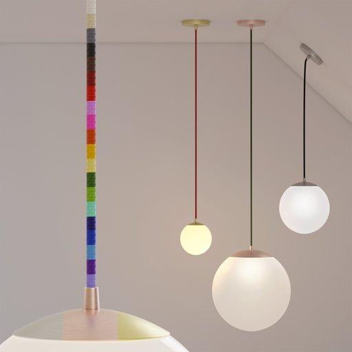 Thumbnail: Pendant sphere light
