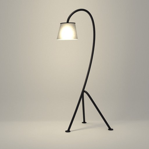 Thumbnail: Minimalist Curvy Light Stand
