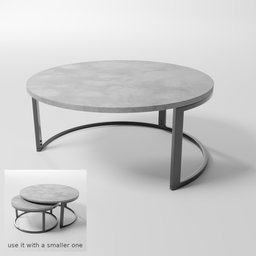Thumbnail: Table - round, medium