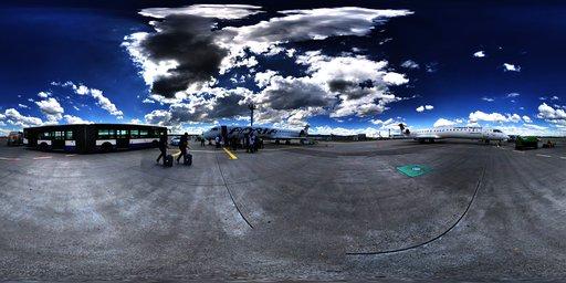 Frankfort Airport HDRI