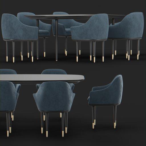 Thumbnail: Henry table set