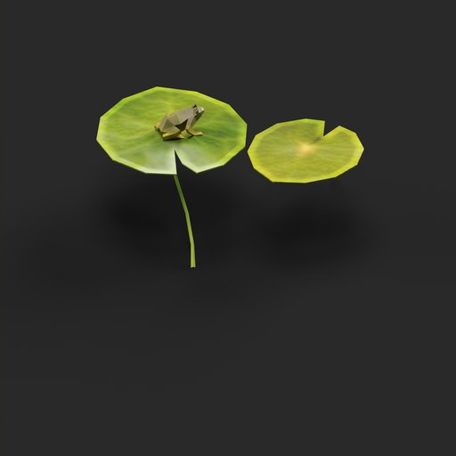 Thumbnail: Low Poly Water Lily