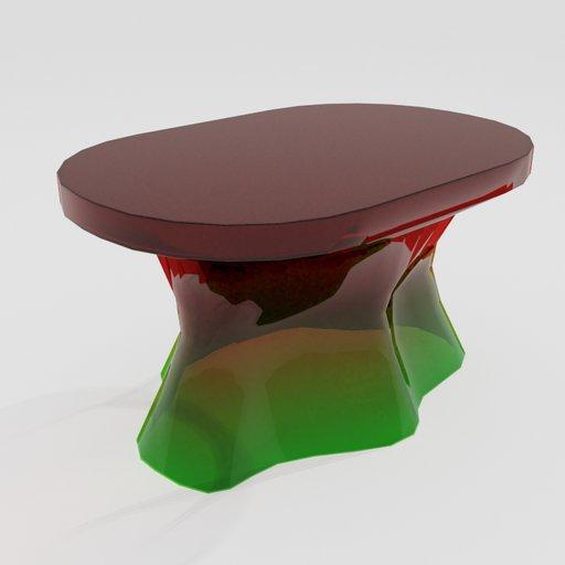 Thumbnail: Glass Coffee Table