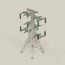 Thumbnail: Electrical Transmission Tower