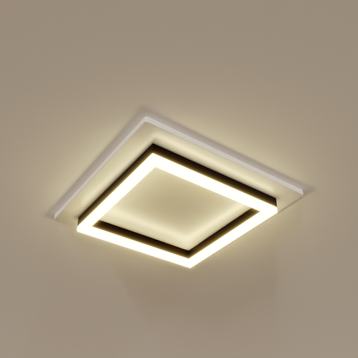 Thumbnail: Square Ceiling Light