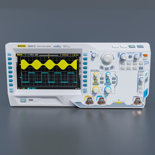 Thumbnail: Digital oscilloscope ds4012 rigol