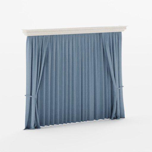 Pine Wooden Curtain
