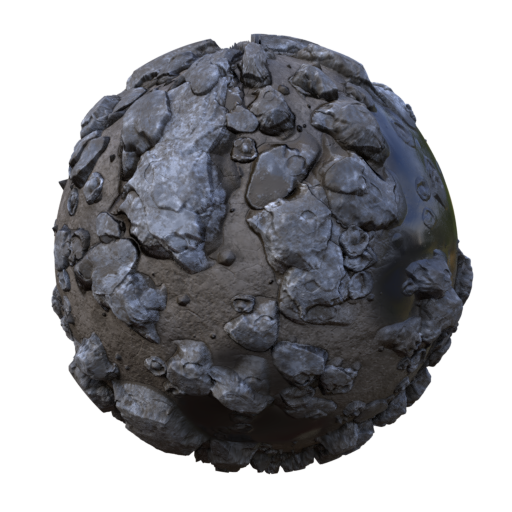 Thumbnail: sand stones puddles