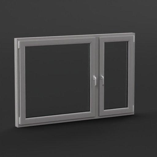 Thumbnail: Plastic Windows 220x140 cm