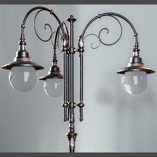 Thumbnail: Vintage Victorian Street Lamp