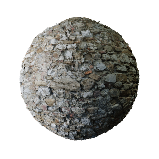 Thumbnail: Old Castle Stone Wall