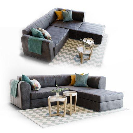 Thumbnail: Sofa Livingroom Set