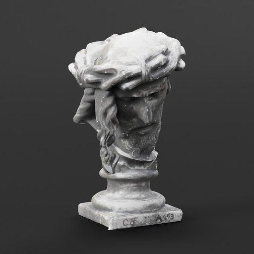 Thumbnail: Bust of an Old Man on a pedestal