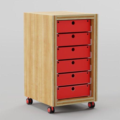 Stroller Drawers 33x39x56