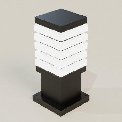 Thumbnail: Post lamp