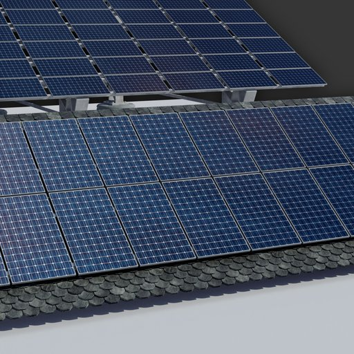 Thumbnail: 6kw Roof Solar Panels Array