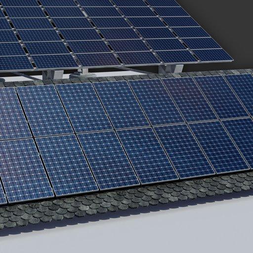 6kw Roof Solar Panels Array