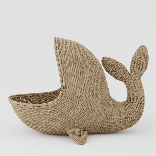 Thumbnail: Wicker basket whale
