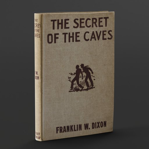 Thumbnail: OLD BOOK: The Secret Of The Lost Caves