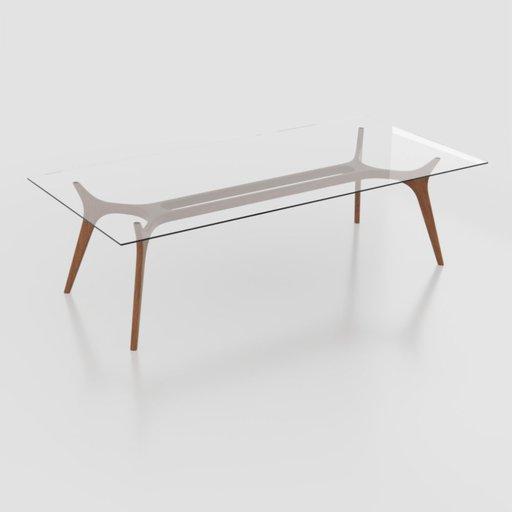 Esplanada table (Rectangular)