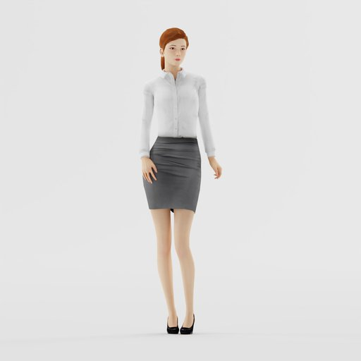 Thumbnail: Woman Formal Stand Pose 2