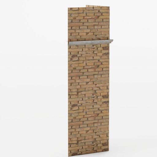 Thumbnail: Wall corner 1x1x3