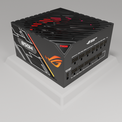 Thumbnail: ROG Thor 850W Platinum Power Supply Unit.